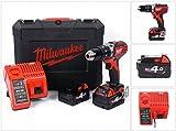Milwaukee 4933443520 – M 18 bpd-402c Schlagbohrmaschine 18...