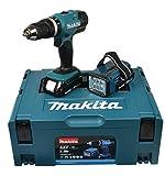 Makita Akku-Schlagbohrschrauber 18 V / 1,5 Ah inklusive...