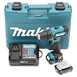 Makita DF333DSAE Akku-Bohrschrauber 12 V max. / 2,0 Ah, 2...
