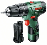 Bosch DIY Akku-Schlagbohrschrauber PSB 10,8 LI-2, 2 Akku, Ladegerät, Doppelschrauberbit, Koffer (10,8 V, 2,0 Ah, Max. Bohr-Ø: Holz: 20 mm, Stahl: 8 mm, Mauerwerk: 6 mm) -