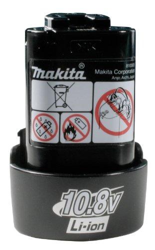 Makita Akku-Bohrschrauber DF330DWJ 10,8V im Makpac mit 2 Akkus + Ladegerät, ohne Lampe -