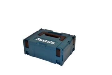 Makita Akku-Schlagbohrschrauber 18 V/4,0 Ah, 2 Akkus und Ladegerät im Makpac, DHP459RMJ -
