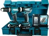 Makita Akku-Set 18 V, DHP453 und DTD146, DLX2020Y -